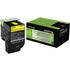 Lexmark 80C2XY0 (802XY) Original Extra High Capacity Yellow Toner Cartridge