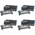 Lexmark C500H2KG/CG/MG/YG Original High Yield Black & Colour Toner Cartridge Multipack