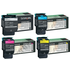 Lexmark C540H1KG,CG,MG,YG Original High Capacity Black & Colour Toner Cartridge Multipack