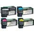 Lexmark C540H1KG,CG,MG,YG Original High Capacity Black & Colour Toner Cartridge Multipack