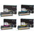 Lexmark C746 Original Black & Colour Return Program Toner 4 Pack
