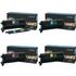 Lexmark C9202KH/CH/MH/YH Original Black & Colour Toner Cartridge Multipack