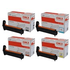 OKI 4239620 (BK/C/M/Y) Original High Capacity Black & Colour Toner Cartridge Multipack