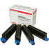 OKI 42403006 (BK/C/M/Y) Original High Capacity Black & Colour Toner Cartridge Multipack