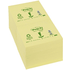 Post-it Notes Recycled 76 x 76mm Yellow 100 sheets per pack (12 pack)