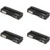 Ricoh 40609 Original Black & Colour Toner Cartridge 4 Pack
