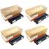 Ricoh 4064 Original High Capacity Black & Colour Toner Cartridge 4 Pack