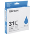 Ricoh GC-31C Original Cyan Gel Cartridge
