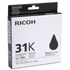 Ricoh GC-31K Original Black Gel Cartridge