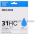 Ricoh GC31HC Original High Yield Cyan Gel Ink Cartridge