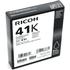 Ricoh GC41K Original Black Gel Ink Cartridge