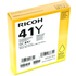 Ricoh GC41Y Original Yellow Gel Ink Cartridge