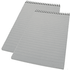WhiteBox Reporters 150 Leaf Spiral Notebook x2