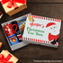 Personalised Santa Christmas Eve Box
