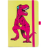 Mustard T-Rex Notebook