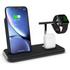 Zens Aluminium Stand Apple Watch Dock Qi schwarz