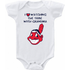Cleveland indians I Love Watching With Grandma Onesie or Tee Heart