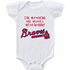Atlanta Braves Watching With Mommy Onesie or T-shirt
