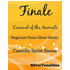 Finale Carnival of the Animals Easy Piano Sheet Music