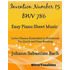 Invention Number 15 BWV 786 Easy Piano Sheet Music