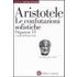 Organon. Testo greco a fronte. Vol. 6: Le confutazioni sofistiche. - Aristotele