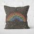 Chalk Rainbow Square Cushion - 50x50cm - Soft Touch