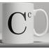 Alphabet Ceramic Mug - Letter C