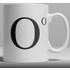 Alphabet Ceramic Mug - Letter O