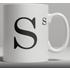 Alphabet Ceramic Mug - Letter S