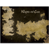 Game of Thrones - Westeros Map Poster + Tube