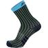 Santini Tono 2 Medium Qskins Socks - Blue - XS-S - Blue