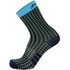 Santini Tono 2 Medium Qskins Socks - Blue - XS-S - Blue