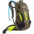 Camelbak Mule Low Rider Hydration Backpack 15 Litres - Burnt Olive/Lime Punch