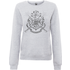 Harry Potter Draco Dormiens Nunquam Titillandus Womens Grey Sweatshirt - XL - Grey