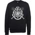 Harry Potter Draco Dormiens Nunquam Titillandus Black Sweatshirt - XL - Black