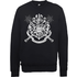 Harry Potter Draco Dormiens Nunquam Titillandus Black Sweatshirt - S - Black
