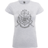 Harry Potter Draco Dormiens Nunquam Titillandus Womens Grey T-Shirt - M - Grey