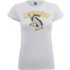 Harry Potter Hufflepuff Womens Grey T-Shirt - L - Grey