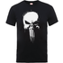 Marvel The Punisher Paintspray Mens Black T-Shirt - S - Black