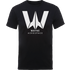 Justice League Wayne Aerospace Mens T-Shirt - Black - L - Black