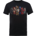 Justice League Team Mens T-Shirt - Black - L - Black