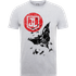 Justice League Batman Moon Leap Mens T-Shirt - Grey - S - Grey