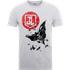 Justice League Batman Moon Leap Mens T-Shirt - Grey - L - Grey