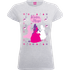 Disney Princesses Christmas Silhouette Winter Magic Womens Grey T-Shirt - S - Grey
