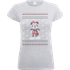Disney Mickey Mouse Mickey Wrapped Up Womens Grey T-Shirt - S - Grey