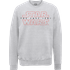 Star Wars The Last Jedi Mens Grey Sweatshirt - L - Grey