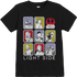 Star Wars The Last Jedi Light Side Kids Black T-Shirt - 7 - 8 Years - Black