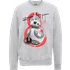 Star Wars The Last Jedi BB8 Roll With IT Grey Sweatshirt - S - Grey