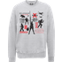 Star Wars The Last Jedi Rebels Mens Grey Sweatshirt - XL - Grey