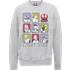 Star Wars The Last Jedi Light Side Grey Sweatshirt - S - Grey